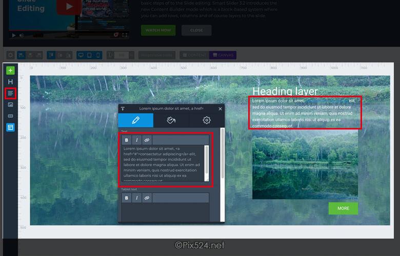 カルーセルプラグインSmartSlider3オシャレにコンテンツ表示!エディタの使用方法